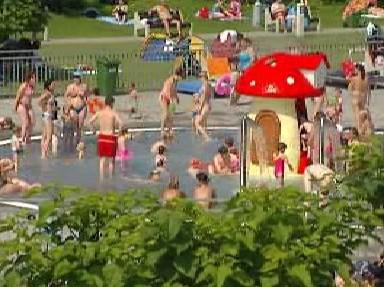 Dětský bazén ostravského Vodního světa
