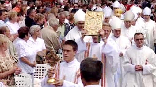 Církevní slavnosti na Velehradě