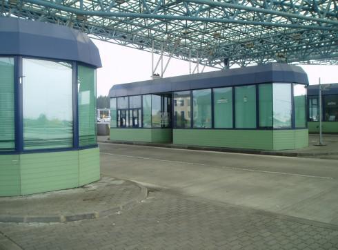 Opuštěná celnice
