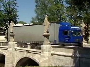 Historický most ve Žďáru nad Sázavou
