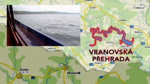 Lodní doprava na Vranovské přehradě
