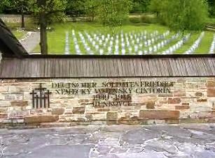 Hřbitov padlých německých vojáků na Slovensku