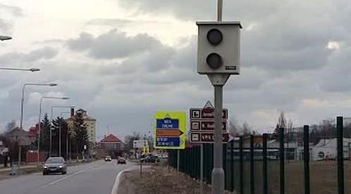 Radar na měření rychlosti