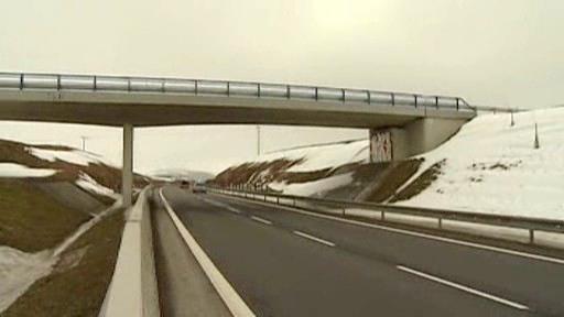 Nový most nad obchvatem Jihlavy