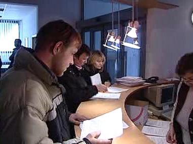 Zaměstnanci sklárny ve Světlé