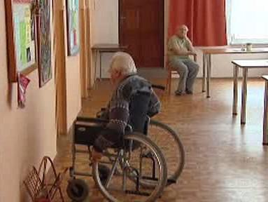Senior ve vsetínském sociálním zařízení