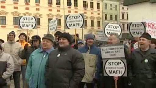 Protest v Jihlavě