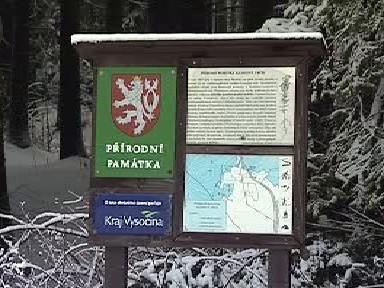 Označení chráněné oblasti