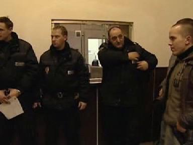 Zlínští policisté před kontrolní akcí
