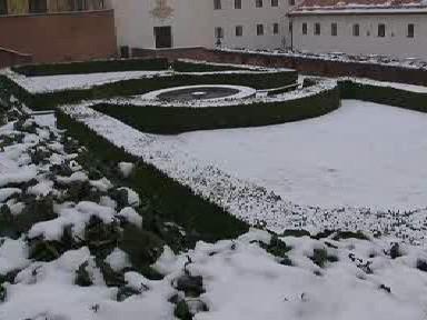 Kapucínská zahrada v Brně-Petrově