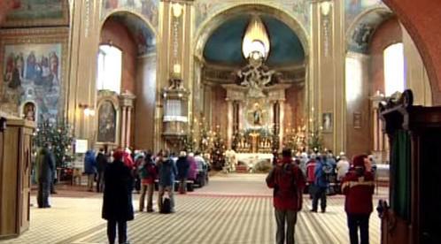 Kostel na Svatém Hostýně
