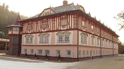 Jeden z proslulých lázeňských domů