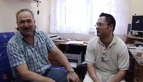 Bohumil Klatovský a Peter Mojžíš