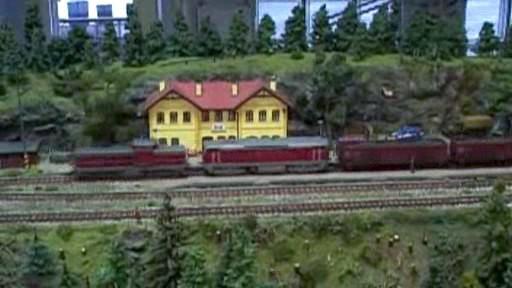 Výstava železničních modelářů