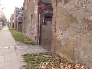 Školní ulice v Holešově