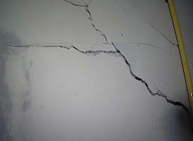 Poškozená stěna