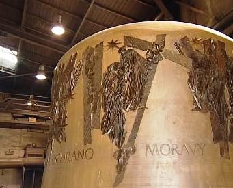 Výzdoba zvonu pro olomoucký svatováclavský chrám