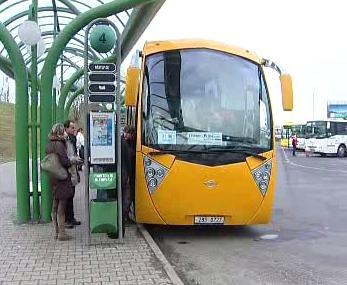 Autobus firmy Student Agency