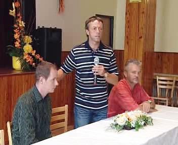 Petr Gazdík a Pavel Bém (zleva)