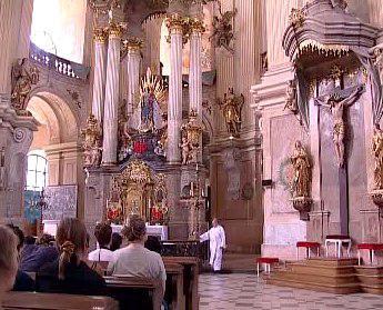 Kostel ve Křtinách