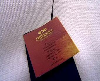 Štítek Alfatex