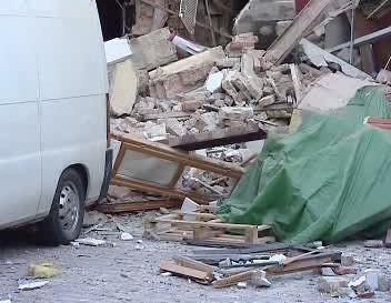 Sutiny po výbuchu