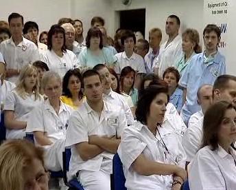Zaměstnanci nemocnice
