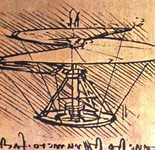 Leonardova helikoptéra