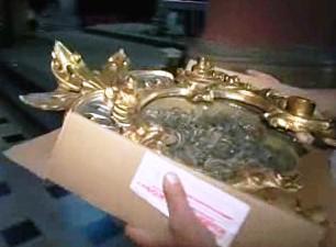 Barokní relikviář má hodnotu 140 tisíc korun.