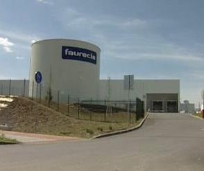 Továrna společnosti Faurecia