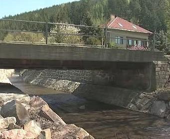 Most v Koroužném na Žďársku