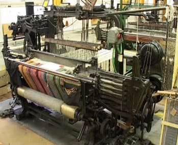 Historický textilní stroj