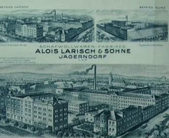 Továrna na vlněné tkaniny Aloise Larische