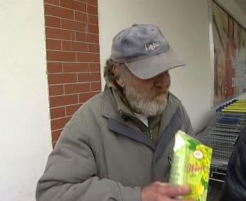 Krnovský bezdomovec