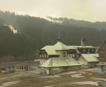 Horský hotel v Beskydech