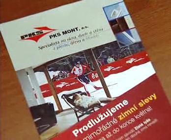 Leták společnosti PKS Mont