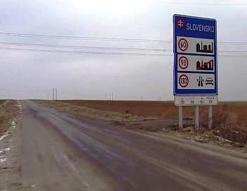 Silnice na Slovensko