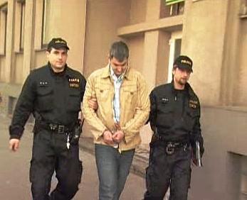Zadržení Lukáše Kužílka