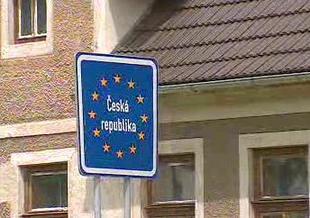 Značka pro schengenskou hranici