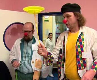 Nemocniční klauni