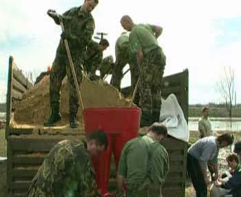 Vojáci záchranného praporu