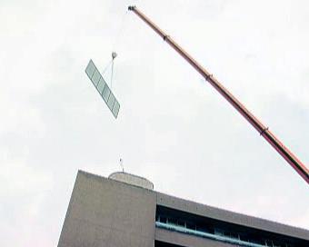 Umísťování solárních panelů