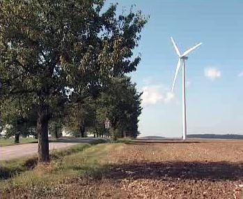 Stožár větrné elektrárny