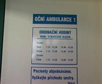 Oční ambulance