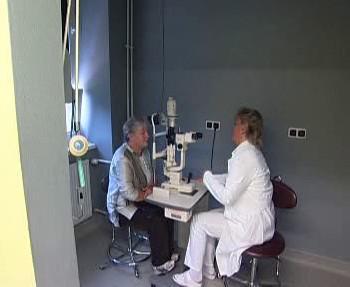 Vyšetření u očního lékaře