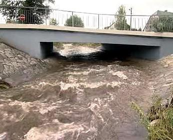 Rozvodněný potok