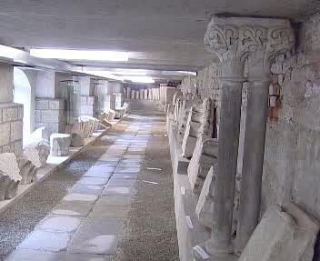 Lapidárium na Velehradě