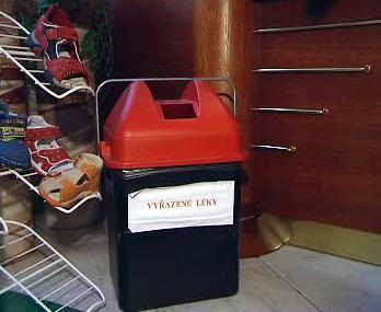 Sběrný box na léky