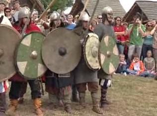 Bitva z doby Velké Moravy