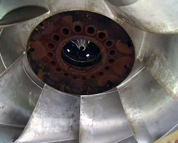 Oběžné kolo turbíny